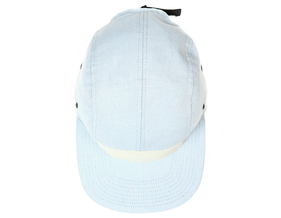 Image of Casquette Five Panel Oxford Bleu
