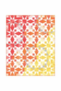 Image of Sunrise Quilt Pattern-PDF
