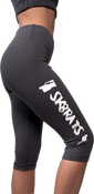 Image of SK8RATS Yoga Pants Knee Length (Grey)