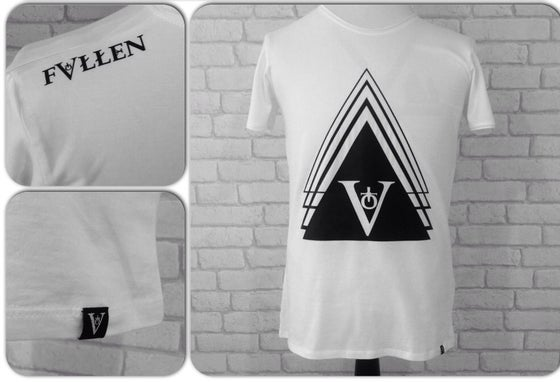 Image of Trigon Tee - White