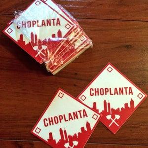 Image of Choplanta Logo Sticker