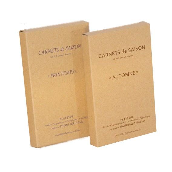 Image of Calepino - Carnets de Saison