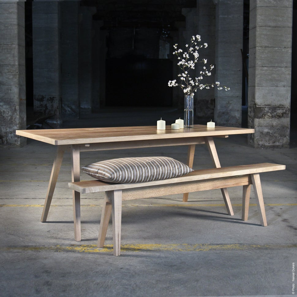 table barak / wood by silex