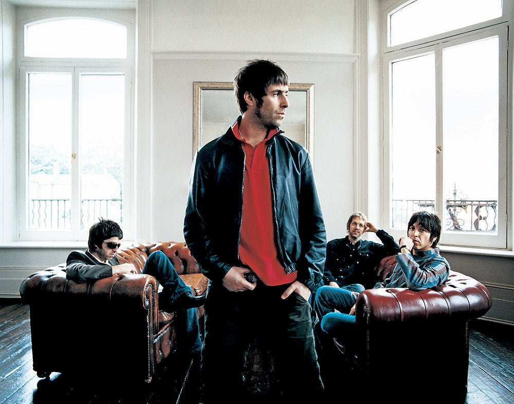 Image of Oasis, photographed in England in 2005 (Edition Print).