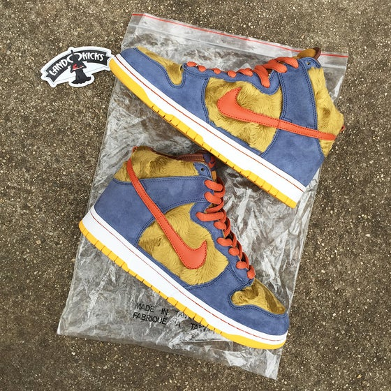 Image of Nike SB Dunk High Premium 'Papa Bear' Sample