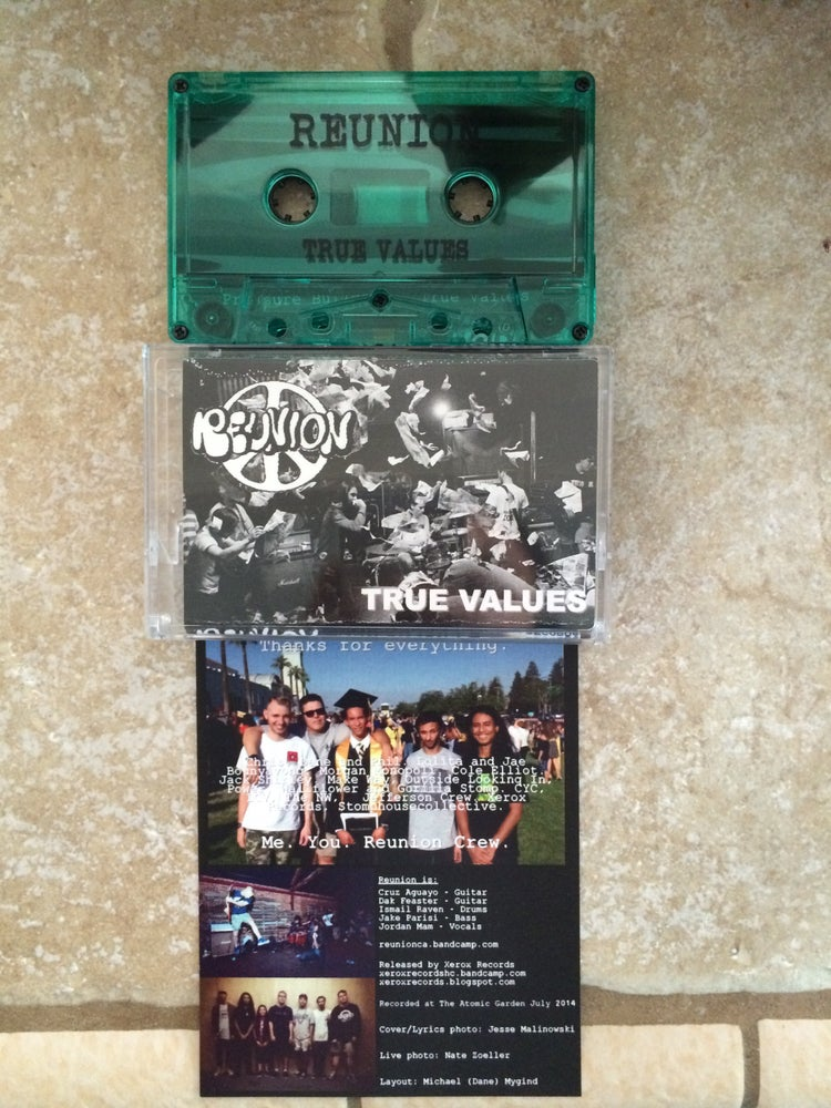 Image of Reunion - True Values EP Tape