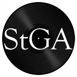 """Image of StGA logo 1"""" Pinback Button"""