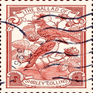 Image of Shirley Collins Print - 'The Ballad of Shirley Collins'