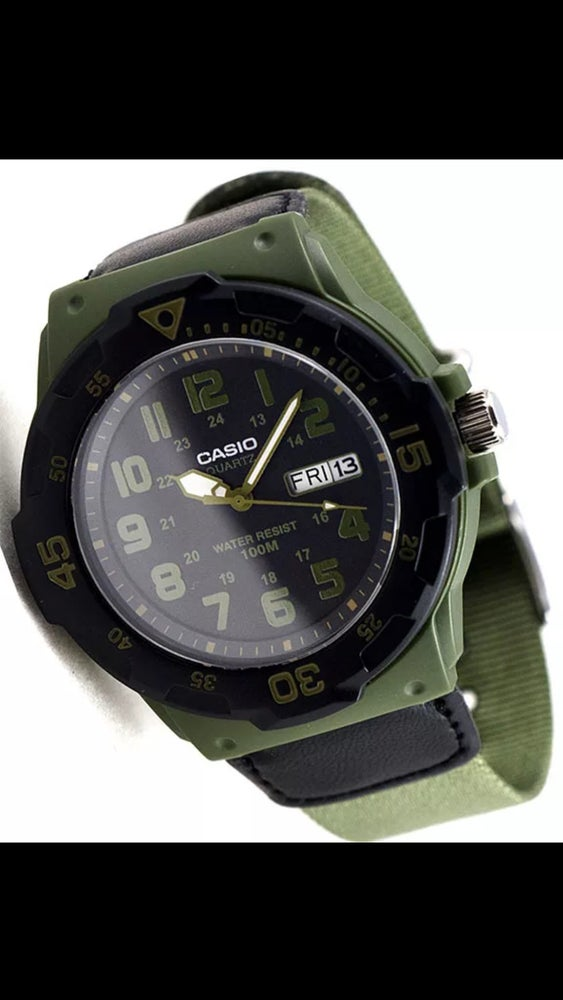Image of OD Green - Casio Standard Issue