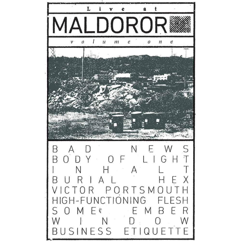 "Image of Various Artists ""Live at Maldoror: Volume One"" CS [MAL1]"