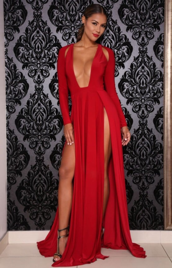 Image of Envy dress (red)