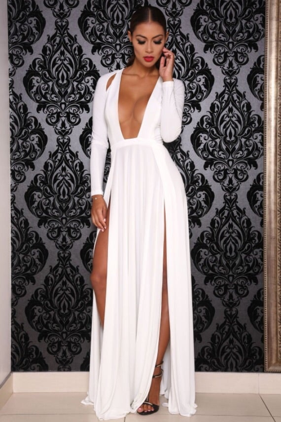 Image of Envy dress (white)