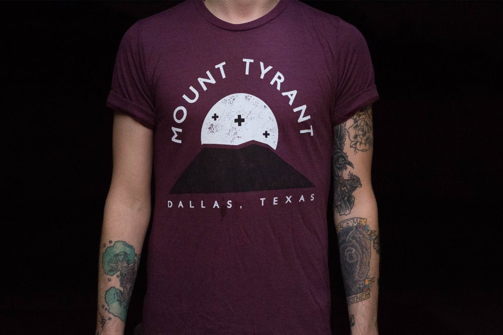 Image of Mountain Tee - Cranberry