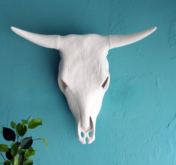 Image of Cow Skull - Ceramic full size