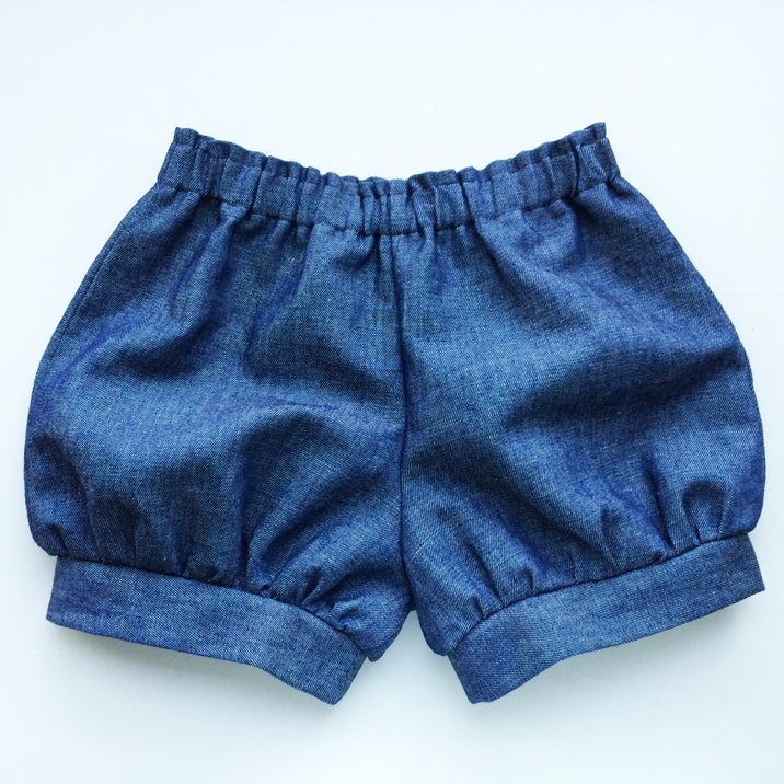 Image of Meyer Shorts (Denim Chambray)