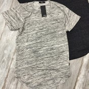 Image of FRENCH TERRY TRIBLEND LONG TEE
