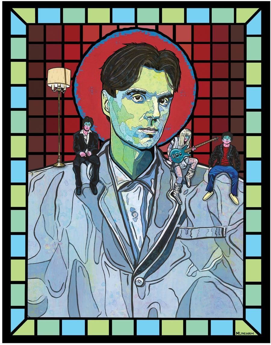 Image of Saint David Byrne (Talking Heads)