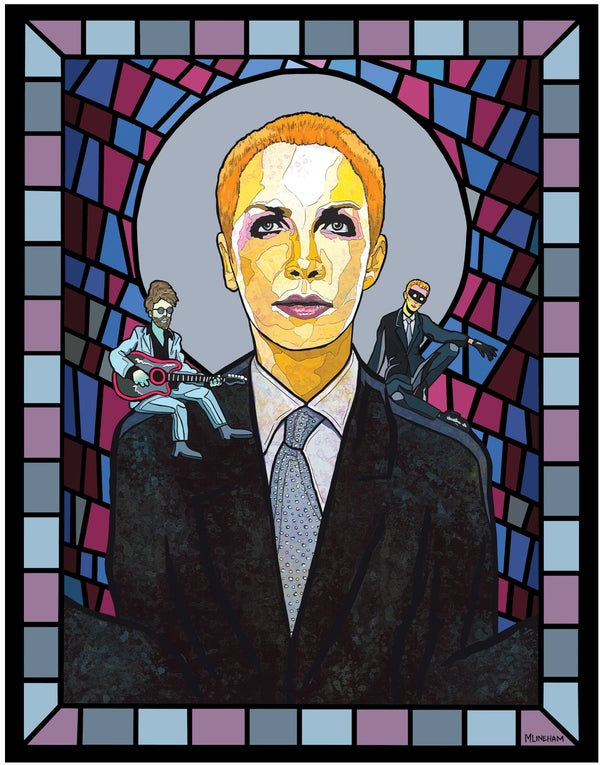 Image of Saint Annie Lennox (Eurythmics)