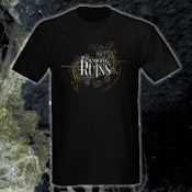 Image of Black 'Mirror Mask' T-shirt