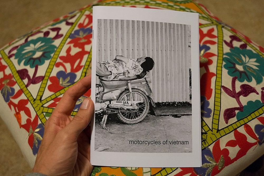 Image of motorcycles of vietnam - photo zine