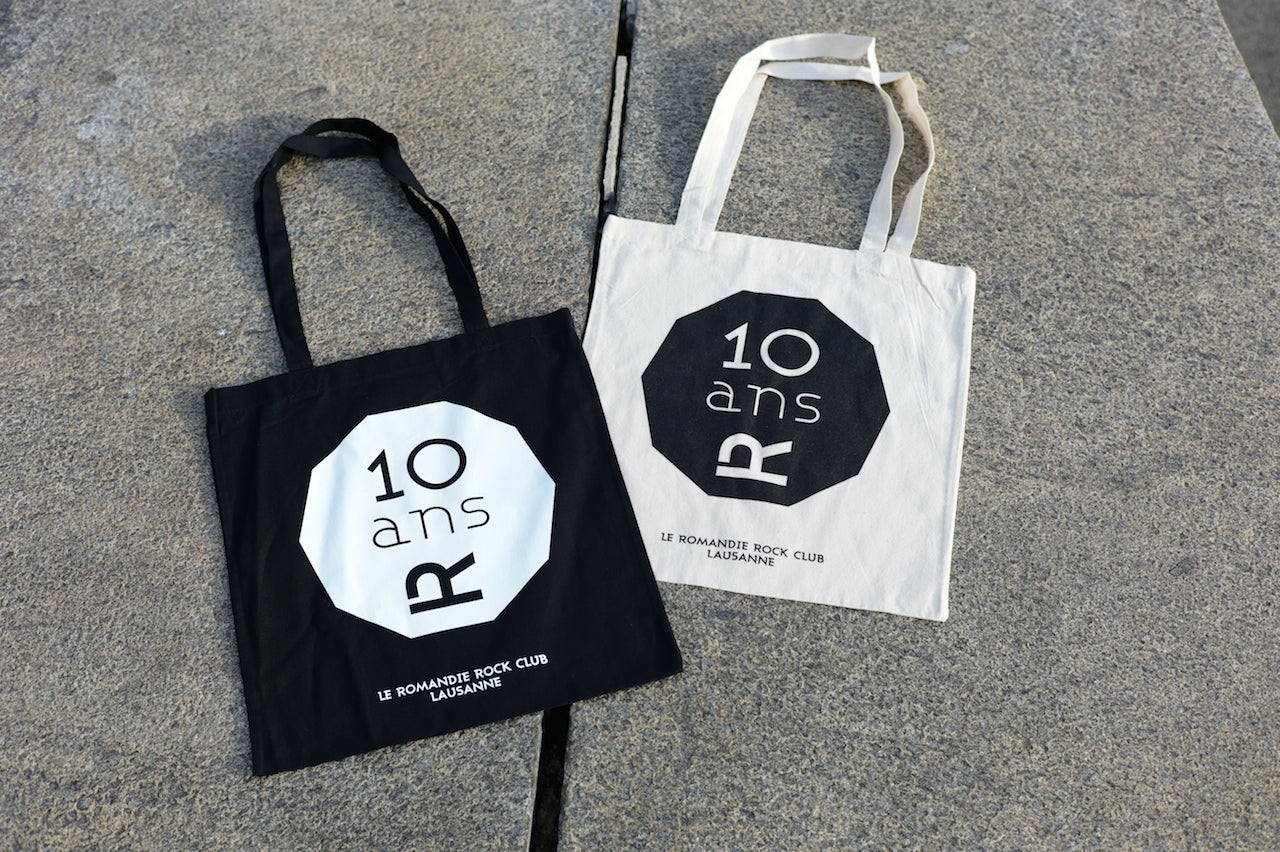 "Image of Tote bag ""10 ans"""