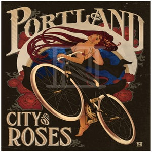 Image of City of Roses - Art Print