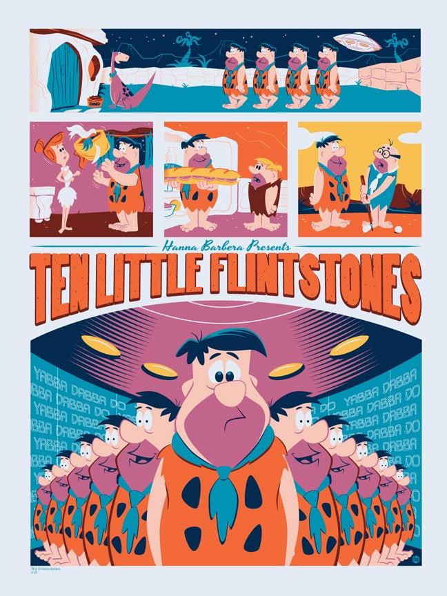 Image of Ten Little Flintstones