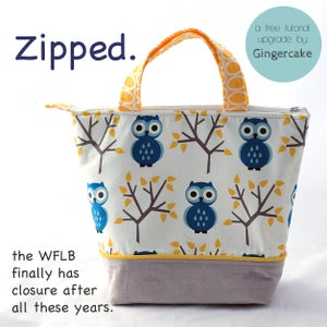 Image of The Waste Free Lunch Bag PDF Sewing Pattern