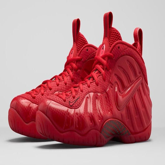 Nike Foamposite Gym Red For Sale