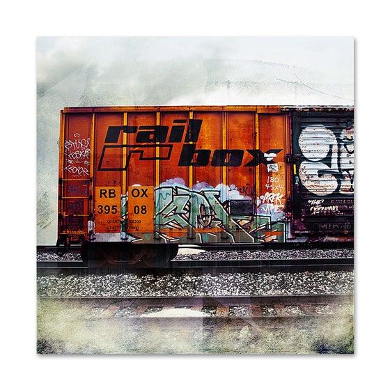 Image of Rail Box Car