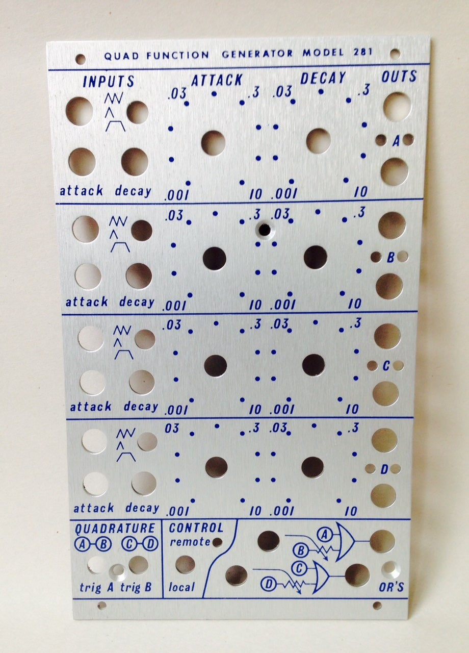 Image of 281 front panel (for DIY kit) Preorder