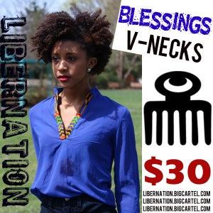 Image of LiberNation Blessings V-Necks