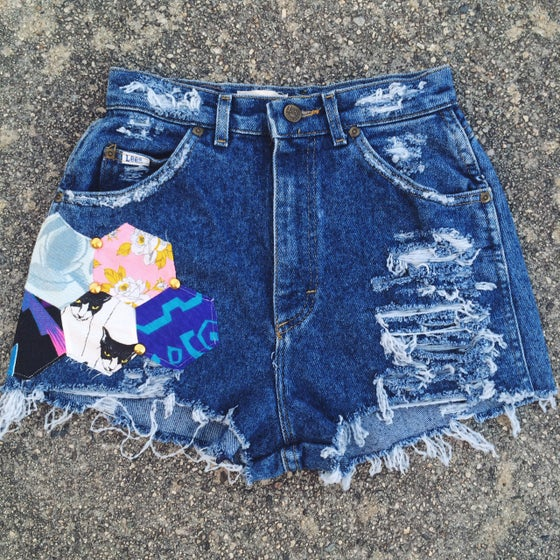 Image of Valley Festival Shorts - Dark Denim