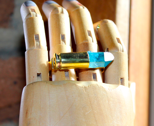 Image of Loaded- Aqua Aura knuckleduster
