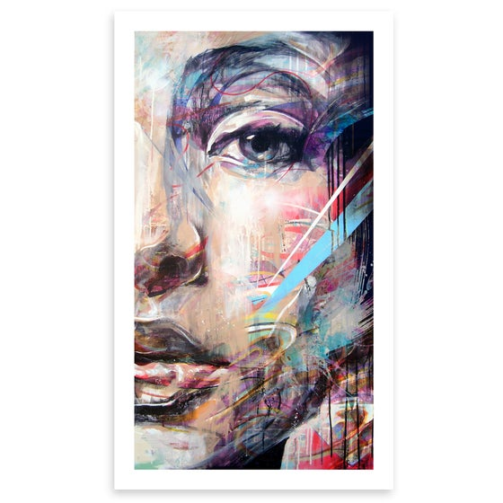 "Image of ""Half Portrait"" OPEN EDITION PRINT"