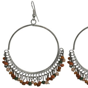 Image of Zulu Earrings (Jungle Green) by Eb&Ive