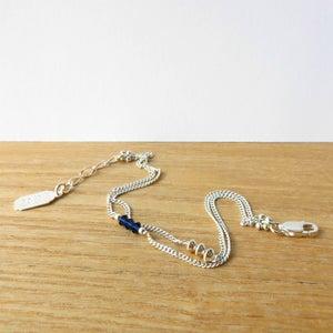Image of Bracelet Twin Indigo