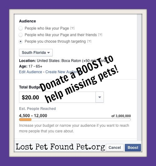 Image of Pay it Forward! DONATE A BOOST.