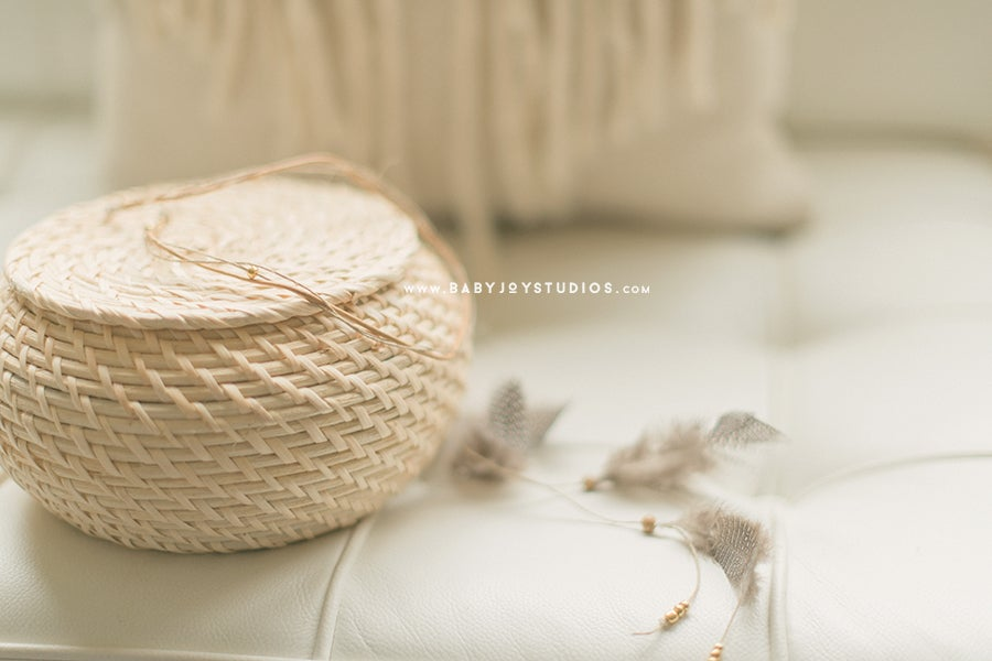Image of NEW Boho feather and leather headband | the Day Dreamer