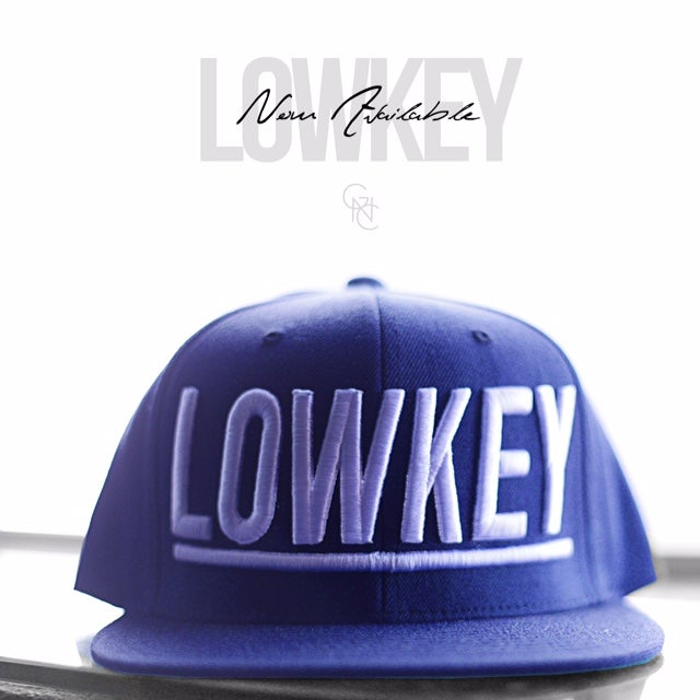 Image of Lowkey Snapback (Navy/White)