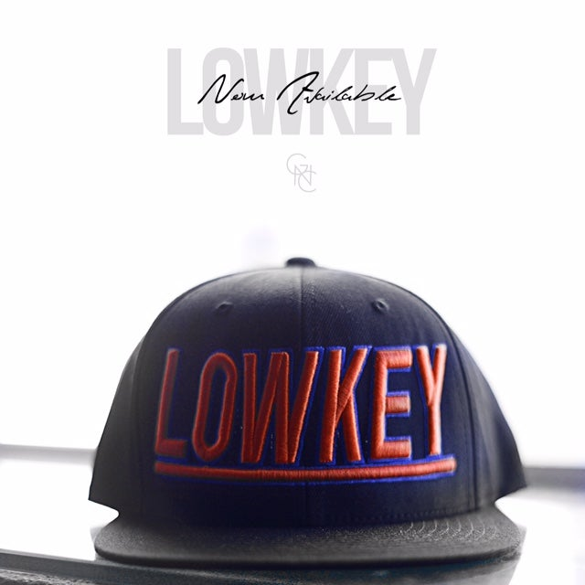 Image of Lowkey Snapback (Orange/Navy blue)