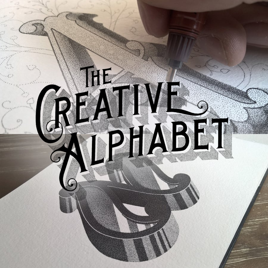 Image of THE CREATIVE ALPHABET - Pre-order for September, 2015.