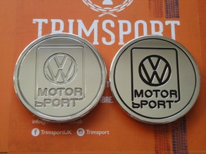 Image of Trimsport VW Golf Jetta Mk2 VWMS Rear Roundel Badge