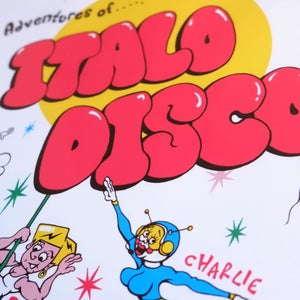 Image of ITALO DISCO poster
