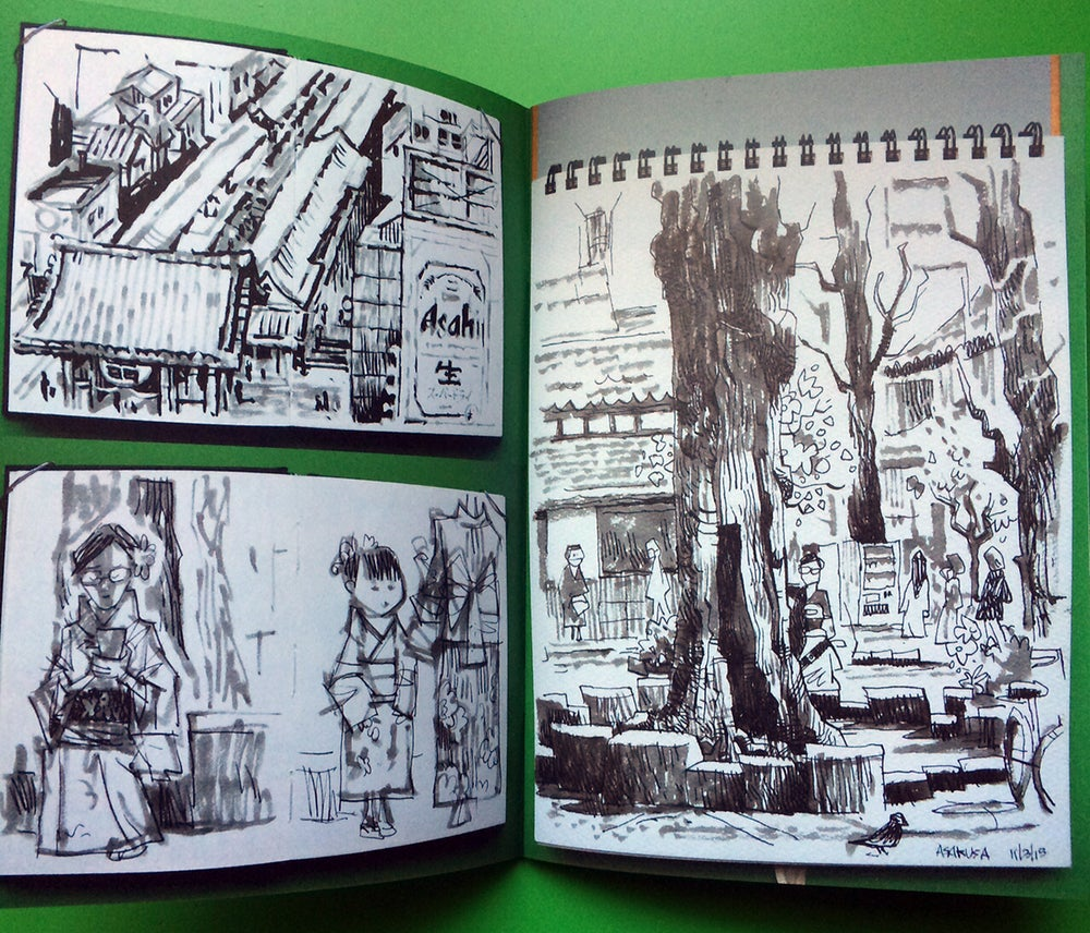 Image of Sketchbook Vol 3 - Japan