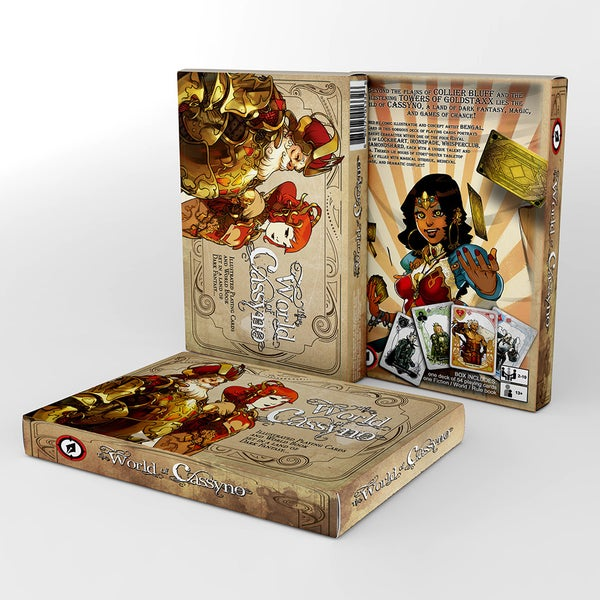 Image of THE WORLD OF CASSYNO Game Box Set