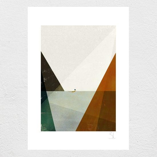 Image of Nadadora II Print