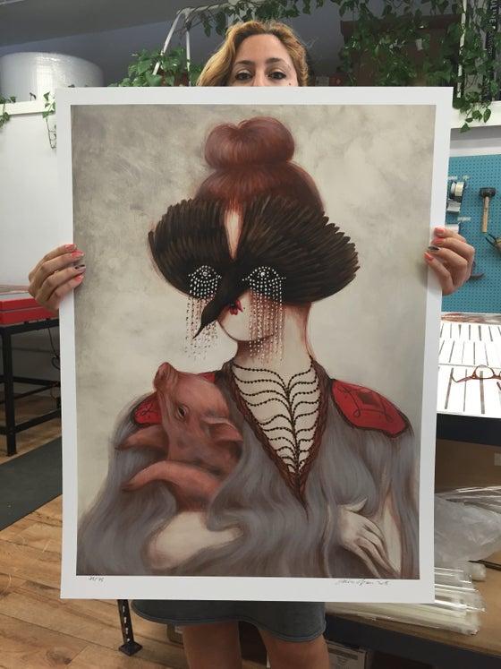 """Image of Miss Van """"Palomita 1"""" Large Print"""