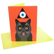 Image of Cat (greeting card)