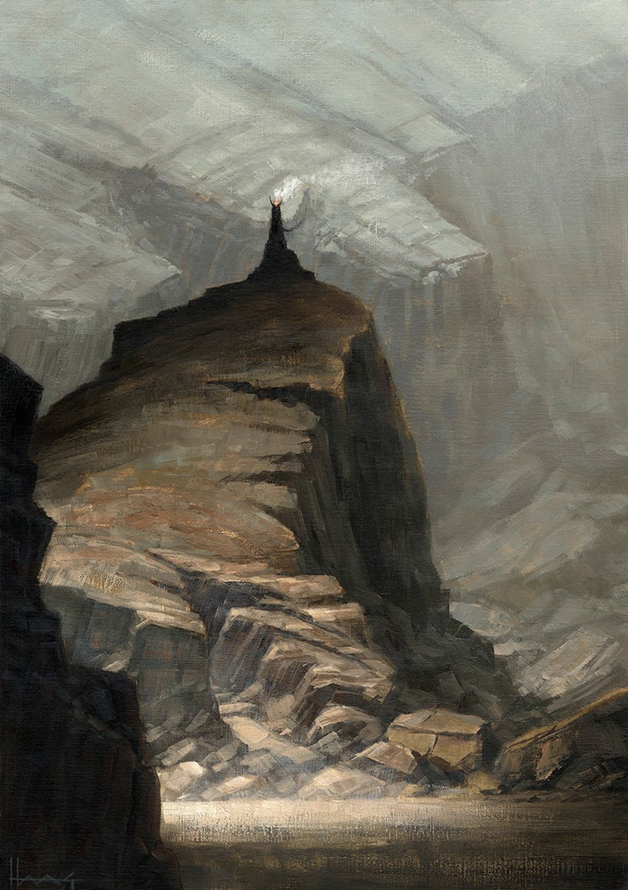 Image of Troll Mountain Book 1 Cover Illustration